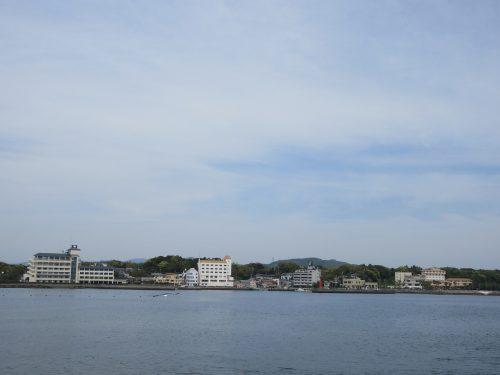 渡鹿野島対岸