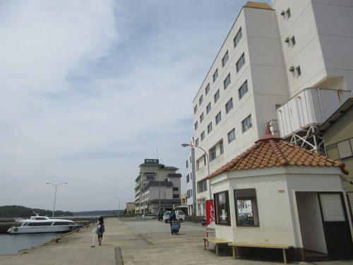渡鹿野島船着き場