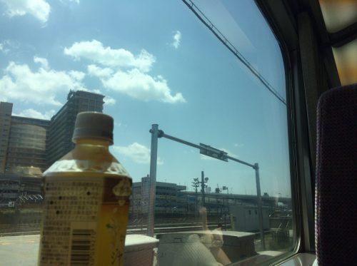 近鉄線の車窓