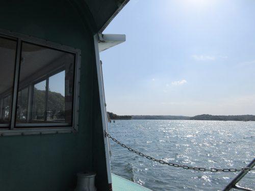 渡鹿野島渡し船