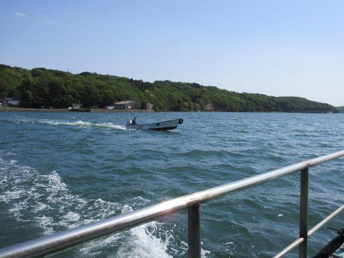 渡鹿野島の海