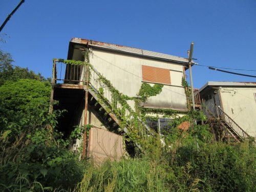 廃墟アパート