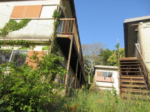 渡鹿野島廃墟アパート
