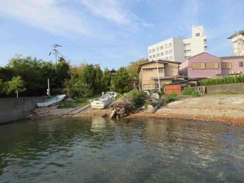 渡鹿野島海辺