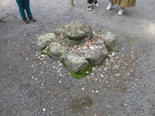 伊勢神宮の石
